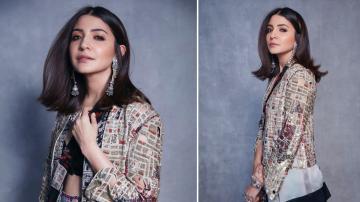 Anushka Sharma's Anamika Khanna outfit is engagingly pretty