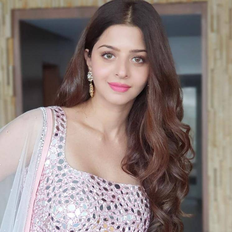 Vedhika was recently seen in Hyderabad in this beautiful lehenga from Sirisha Reddy - Fashion Models