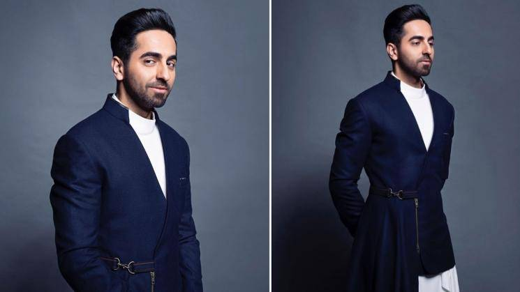 Take a look at Ayushmann Khurrana's dramatic outfit