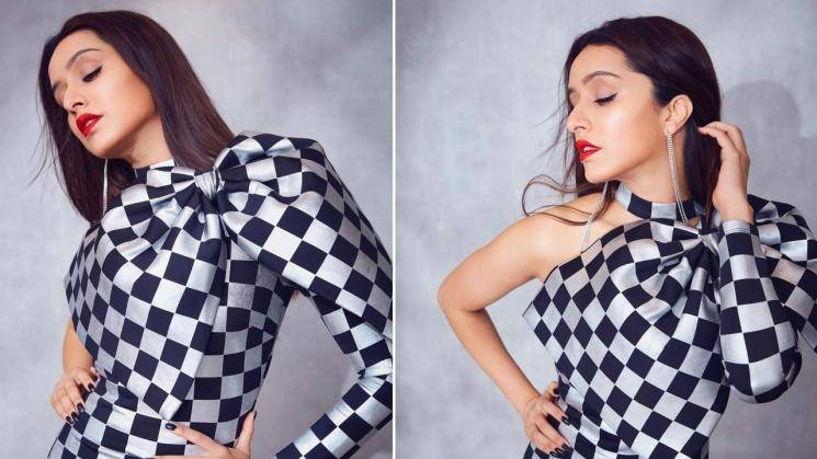 Shraddha Kapoor's checkerboard dress is sexy!