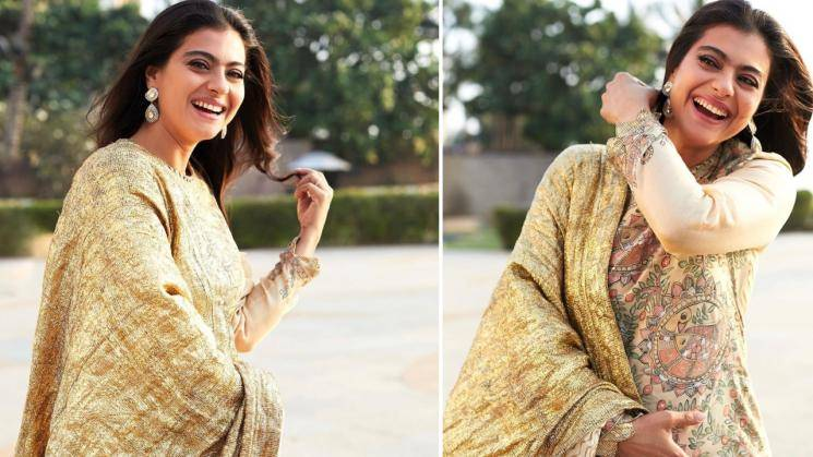 Kajol's outfit is ethnic gold