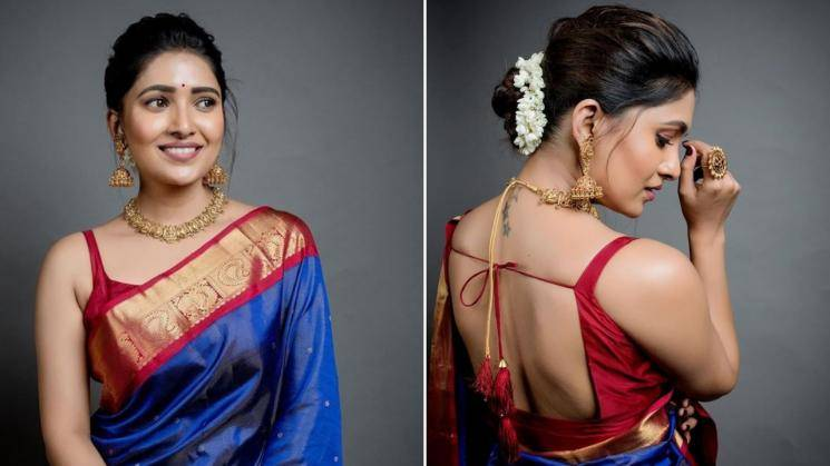 Here's why we love Vani Bhojan in traditional attire