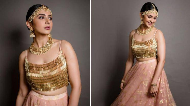 Take a look at Rakul Preet's dancing doll attire