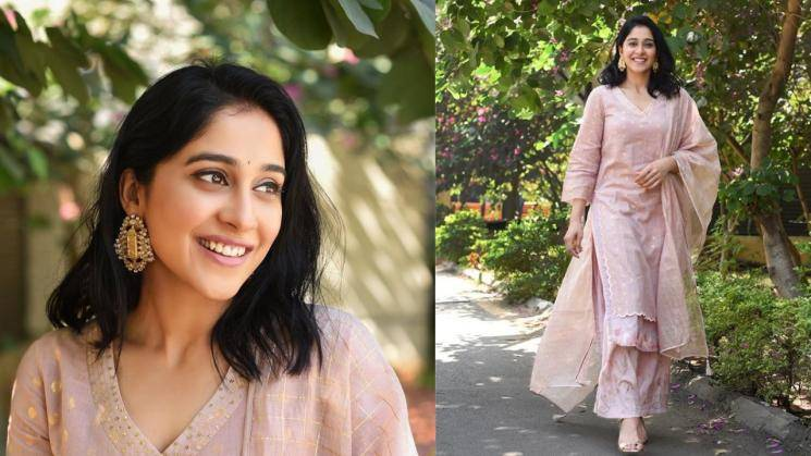 Regina Cassandra ready for a day in the office