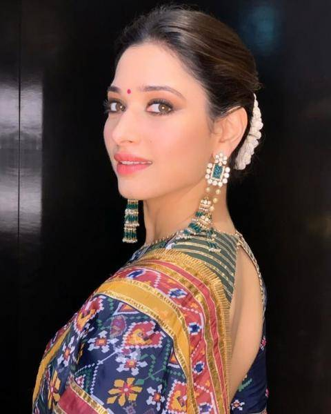 Stylist Sukriti Grover found the emerald-and-stone earrings from Purabh Pashchim  - Fashion Models