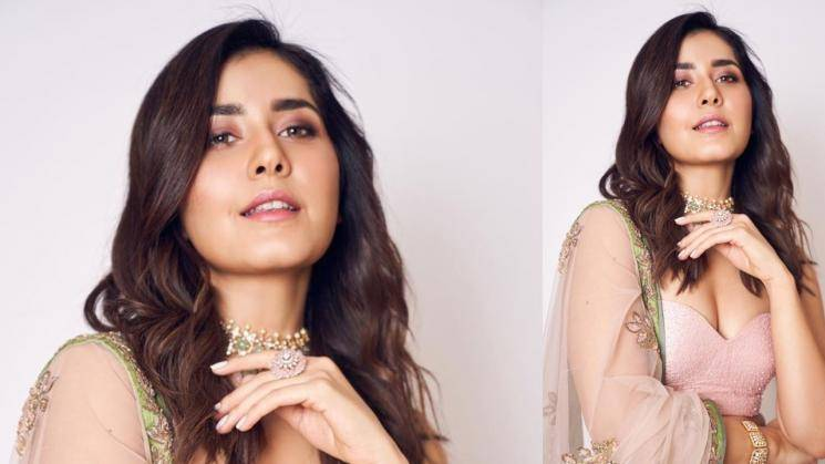 Raashi Khanna is stunning people in baby pink again
