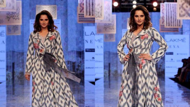 Sania Mirza looking good in this handloom outfit