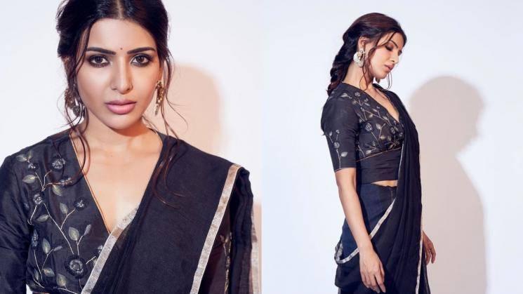 Samantha Akkineni's black saree has character
