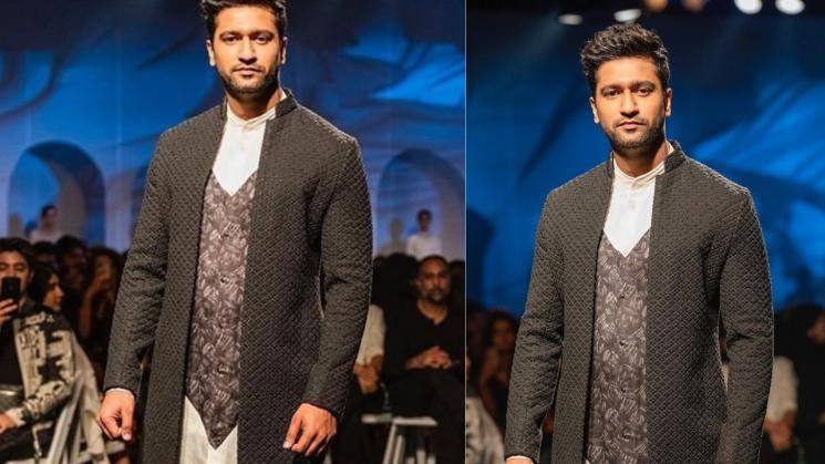 Vicky Kaushal looking dapper in knotted jacket