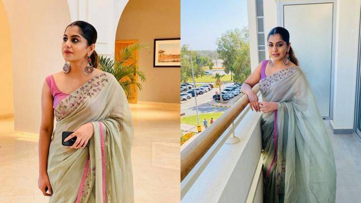Meera Nandan's simple out-for-dinner look Meera Nandan's simple out-for-dinner look