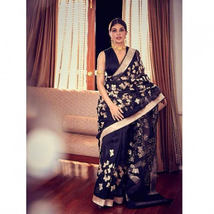 The saree looks very similar to one we saw on Samantha Akkineni recently, but we still love the effect - Fashion Models