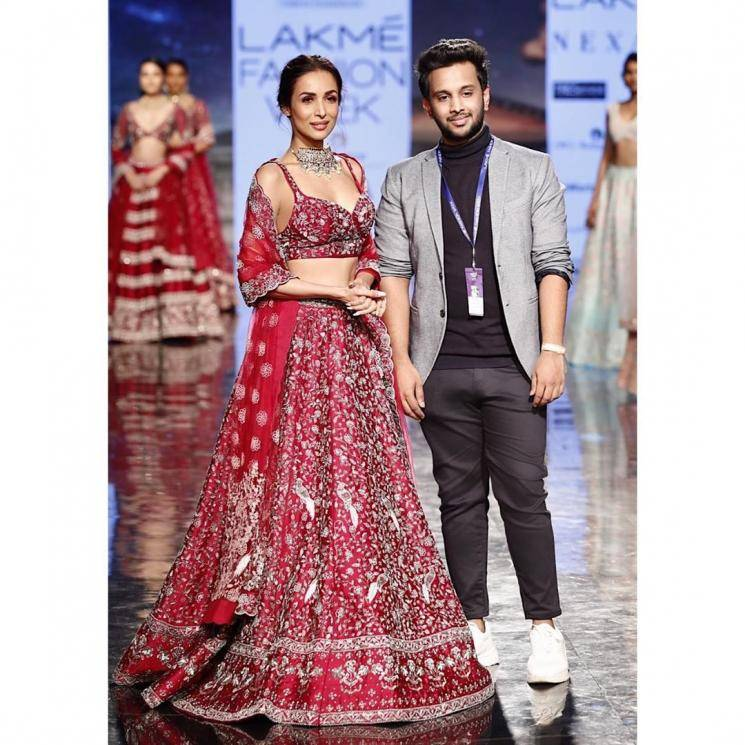 Malaika Arora was the show stopper for debutant designer Varun Chakkilam at the Lakme Fashion Week and we love the outfit she was spotted in - Fashion Models