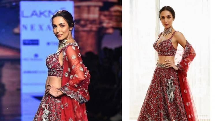 Stunning Malaika Arora scorches the ramp again