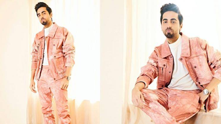 Light Pink looks good on Ayushmann Khurana