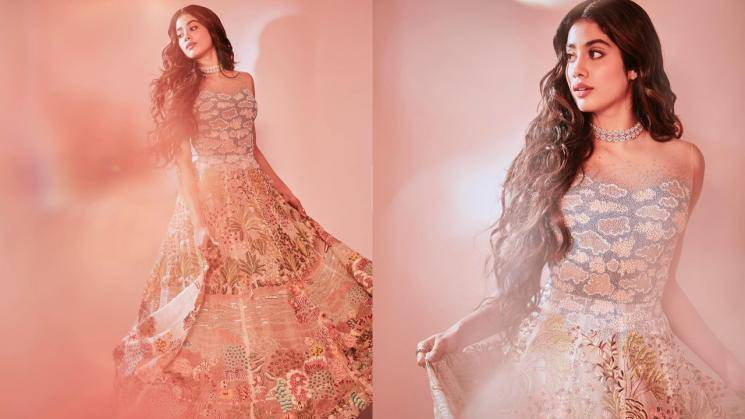 Jhanvi Kapoor was a vision on the ramp this week