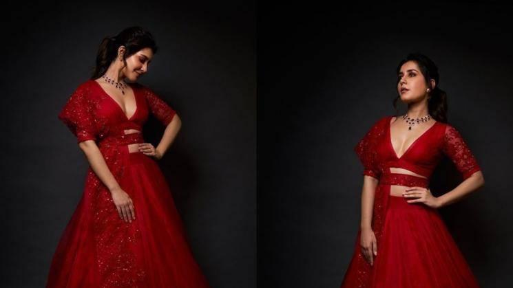 Raashi Khanna's red lehenga is breathtaking!
