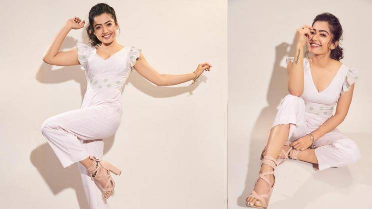 Rashmika Mandanna's simple at-home look is all comfort...
