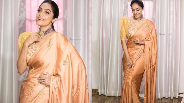 Check out Abhirami Venkatachalam's saree avatar