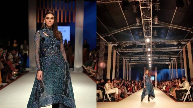 Aditi Rao Hydari's applique outfit oozes style