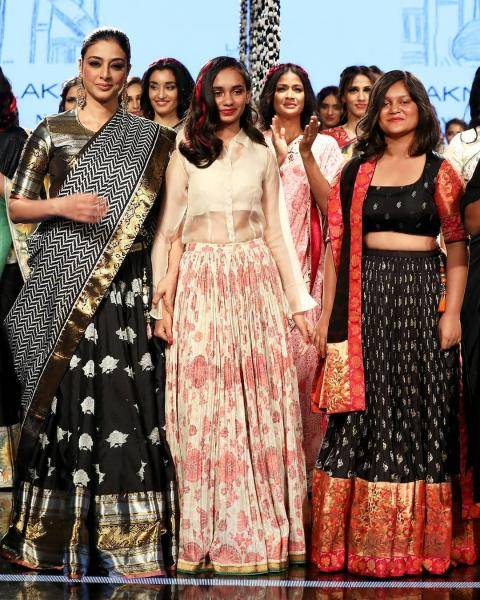 Taboo was spotted on the Lakme Fashion Week ramp in this cool number from Gaurang Shah  - Fashion Models