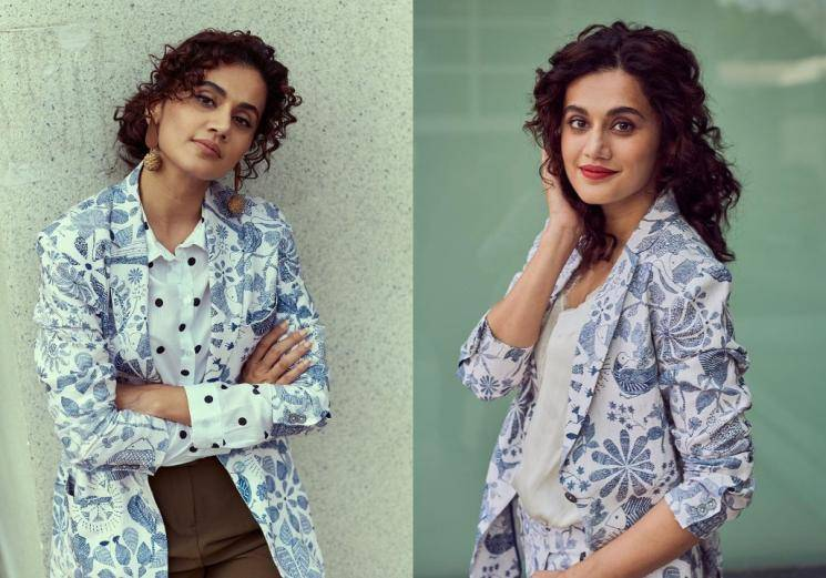 Tapsee Pannu's outfit is rather cute