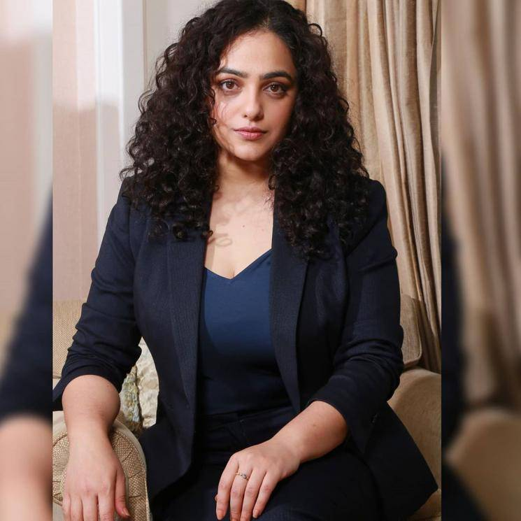 Nithya Menen was recently spotted in this classic suit that stylist Sanjana Batra chose for her - Fashion Models
