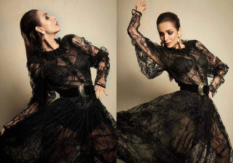 Malaika Arora is a vision in black lace
