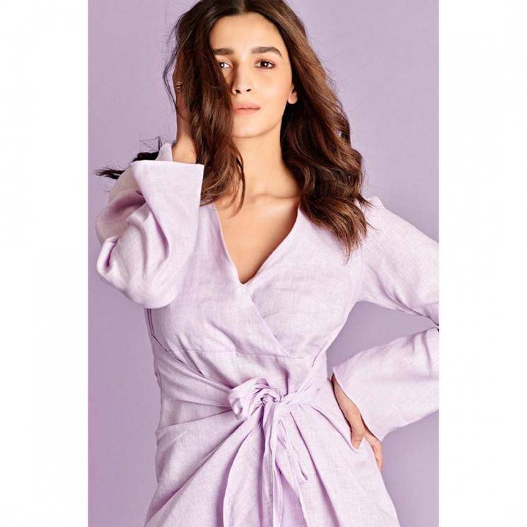 Alia Bhatt was seen at the screening of a movie recently in this simple lavender outfit from Summer Somewhere - Fashion Models