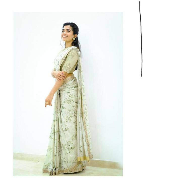 The lady is a looker - a fact further aided by those cool earrings from Architha Narayanan - Fashion Models