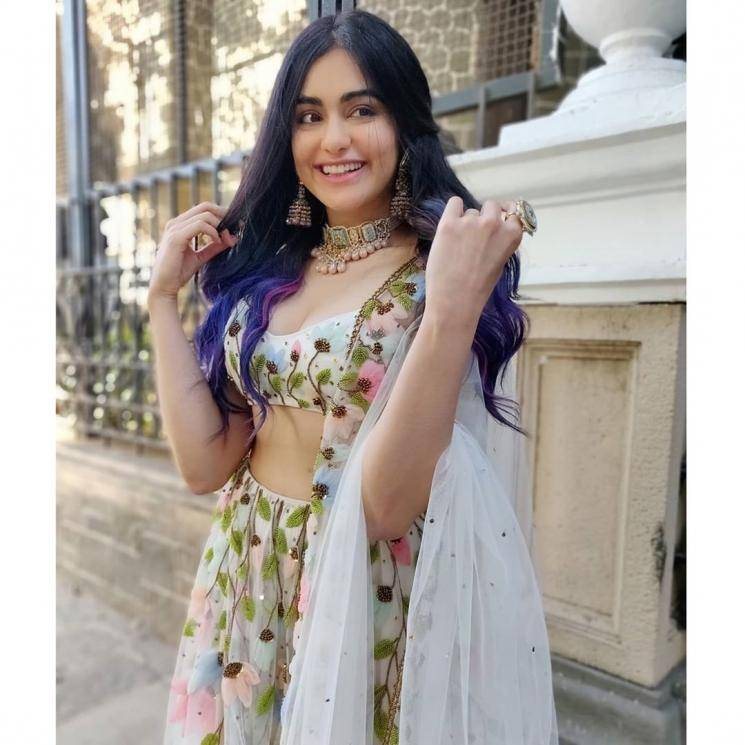 Adah Sharma is a fashionista and we love her - not just for looking great in this floral lehenga from House of Hiya - Fashion Models