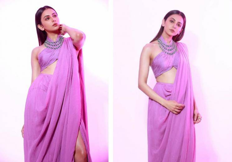Rakul Preet's saree outfit is just cool!