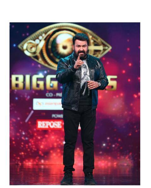 Mohan Lal is still dictating fashion and this week in the Bigg Boss show, he appeared wearing this classi jacket from stylist Jishad Shamsudeen - Fashion Models