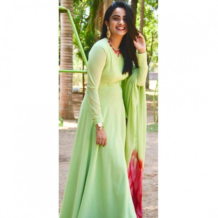 Namitha Pramod was recently spotted in this wear-any-day pista green churdiar set from Parid De Boutique - Fashion Models