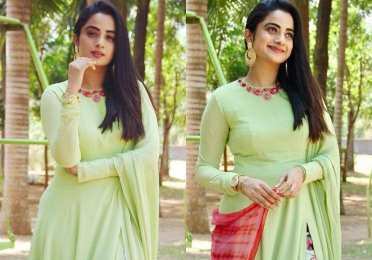 Namitha Pramod's churidar look is cute and cosy  - Fashion Actors