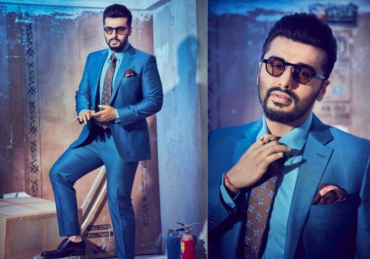 Arjun Kapoor's blue suit is electrifying! - Fashion Actress