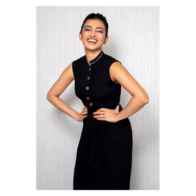 Radhika Apte was spotted having some fun before self-isolating, in this outfit from designers Shantanu & Nikhil - Fashion Models