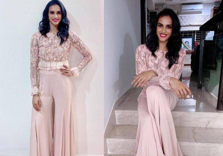 Check out PV Sindhu's pastel outfit - Fashion Actress