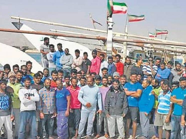 673 Indian fishermen returning from Iran by chartered ship! - Daily Cinema news