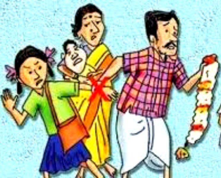 அட பாவி.. தூங்கிக் கொண்டிருக்கும்போது சிறுமிக்கு தாலி கட்டிய கொடுமை! - News Update