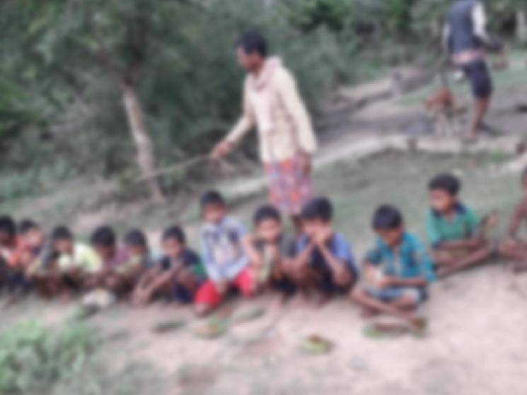 Villagers give over 50 children between 10 & 12 liquor to prevent COVID-19! -