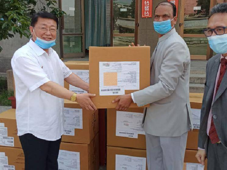 India provides North Korea with USD 1 million worth of medical assistance! - Daily Cinema news