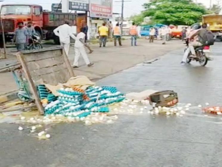 MLA promises house for egg seller whose cart was damaged by Corporation Officials! - Daily news