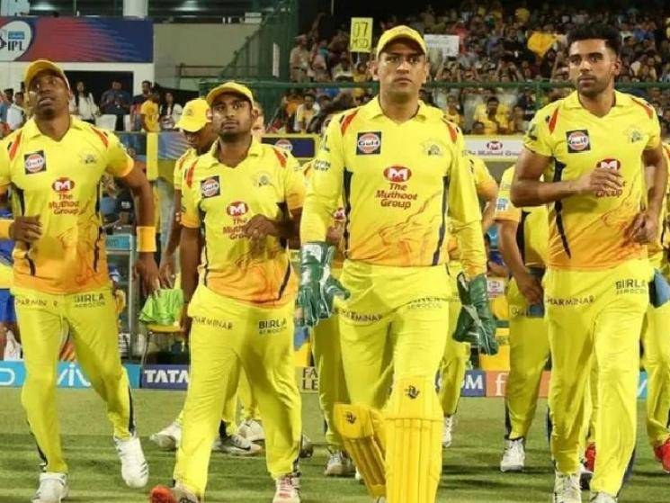 CSK players to arrive in Chennai only after thorough COVID testing! - Daily news