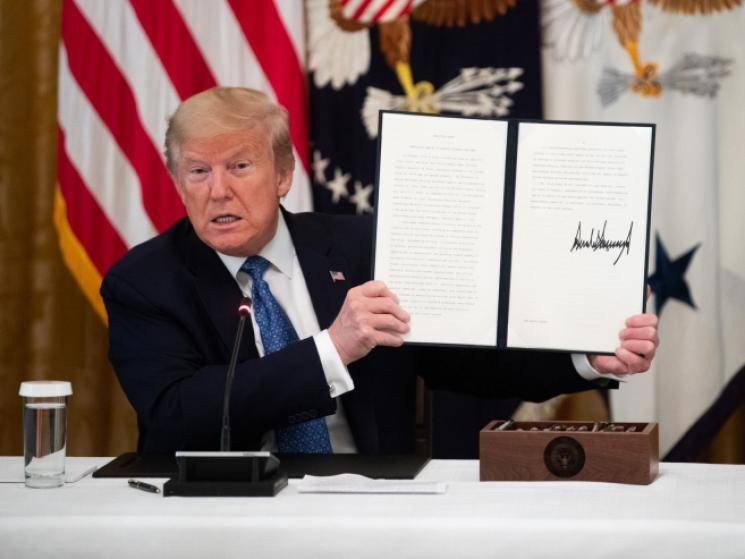 US President Executive Order banning transactions with TikTok parent company ByteDance!