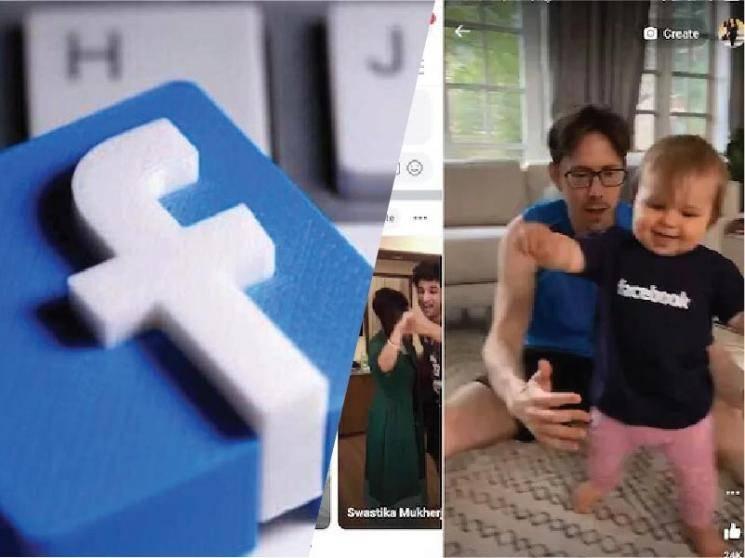 Facebook begins testing TikTok-style short videos on its main app in India -