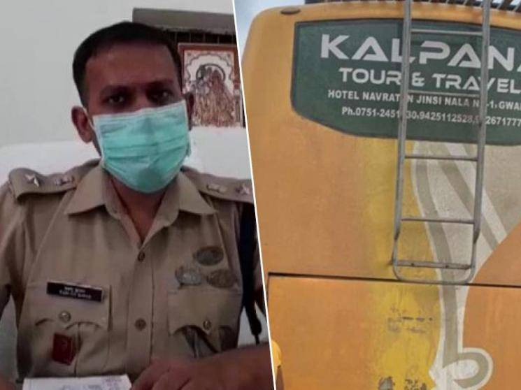Uttar Pradesh bus with 34 passengers seized by finance company agents in Agra -
