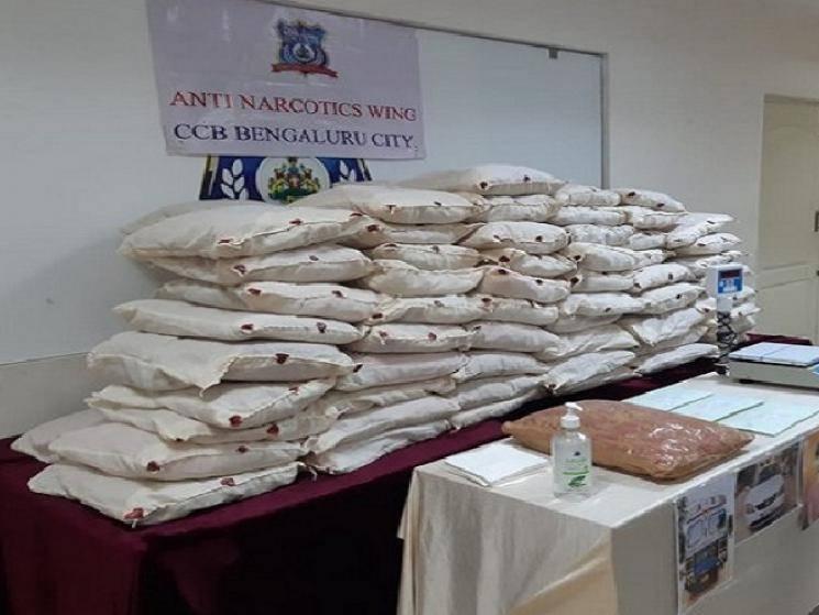 Central Crime Branch seize over Rs. 1 Crore worth Ganja from inter-state drug peddlers! -