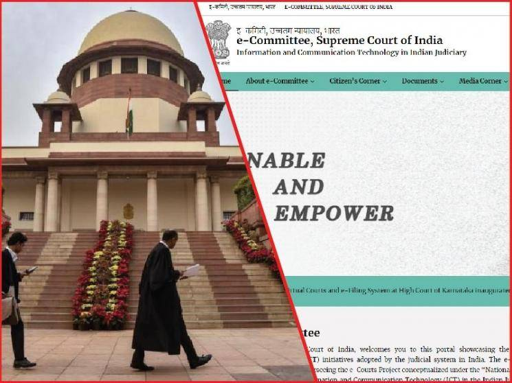 Website for citizens to track case status launched by Supreme Court judge -