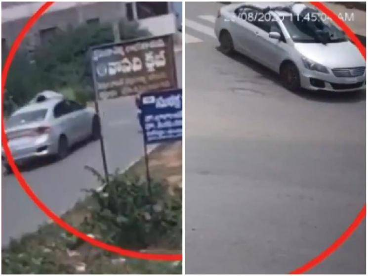 Andhra Pradesh cop clings on to car bonnet for two kilometres to stop liquor smugglers - News Update