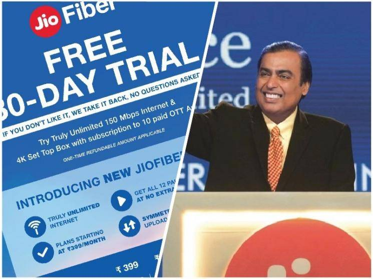 Reliance JioFiber revamps - 30-day free trial, Unlimited data up to 300Mbps and a lot more - Daily Cinema news